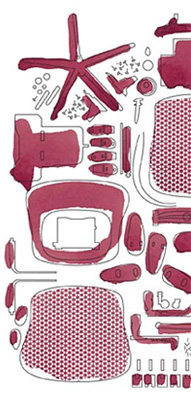 Celle Chair Materials Graphic